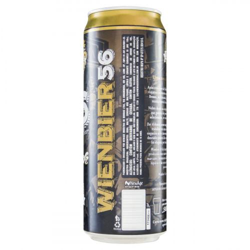 Cerveja Black Premium Wienbier 56 Beer Lata 710ml
