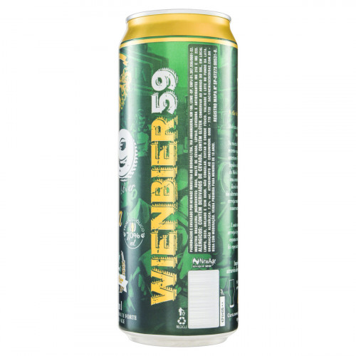 Cerveja IPA Puro Malte Wienbier 59 Beer Lata 710ml