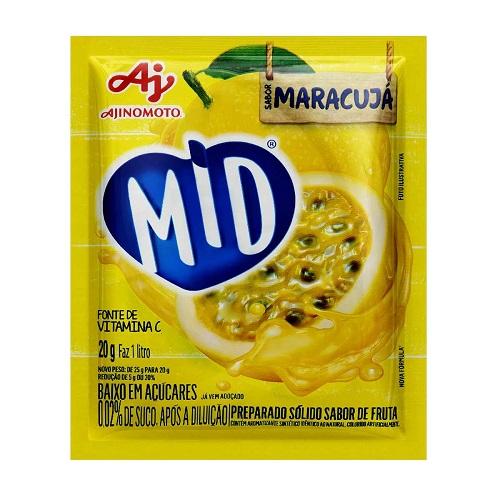Refresco Mid 20g Maracujá