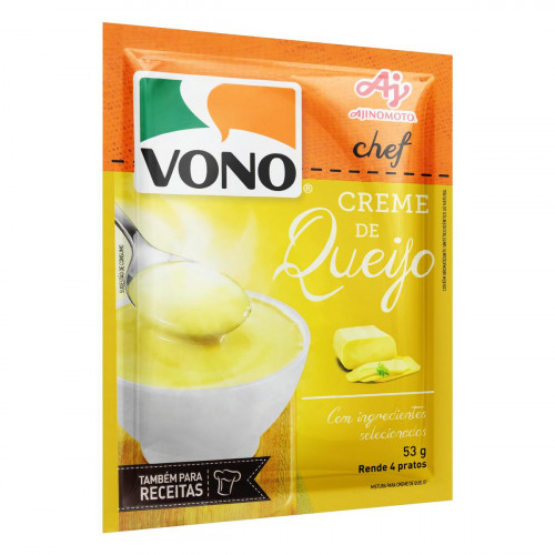 Sopa VONO® Chef Creme de Queijo 53g