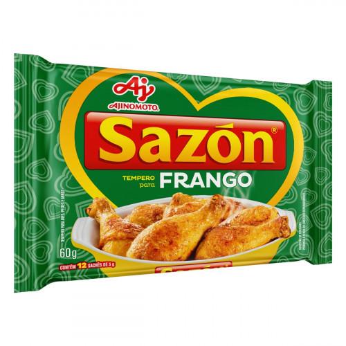 Tempero para Frango Sazón Pacote 60g 12 Unidades