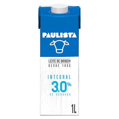 Leite Paulista Integral - 1L