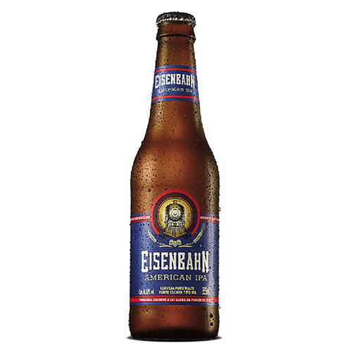 Cerveja American IPA Puro Malte Eisenbahn Garrafa 355ml