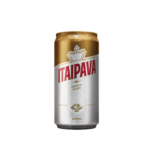 Cerveja Nacional Itaipava Lata - 269ml