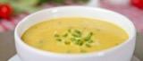 Sopa de mandioquinha com Espinafre